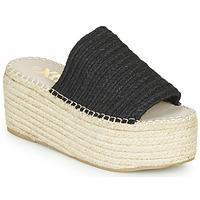 Schoenen Dames Leren slippers Xti  Zwart