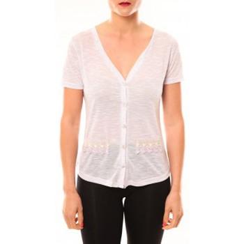 Textiel Dames T-shirts korte mouwen Meisïe Top 50-608SP15 Lavande Violet