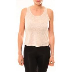 Textiel Dames T-shirts & Polo's Meisïe Débardeur 50-502SP15 Beige Beige