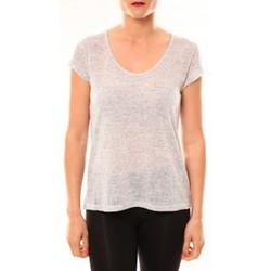 Textiel Dames T-shirts korte mouwen Meisïe T-Shirt 50-606SP15 Gris clair Grijs