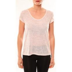 Textiel Dames T-shirts korte mouwen Meisïe T-Shirt 50-606SP15 Rose Roze