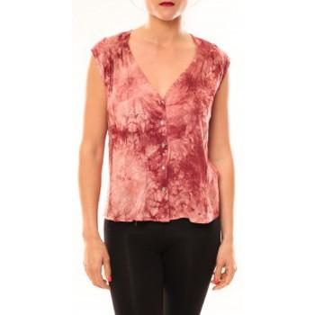 Textiel Dames Mouwloze tops Meisïe Top 50-504SP15 Rose Roze