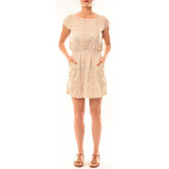 Textiel Dames Korte jurken Meisïe Robe V6-710SP15 Beige Beige