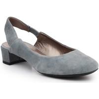 Schoenen Dames Sandalen / Open schoenen Geox D Carey B D64V8B-000J0-C4069 grey