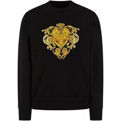 Textiel Heren Sweaters / Sweatshirts Versace B7GVB7EB Zwart