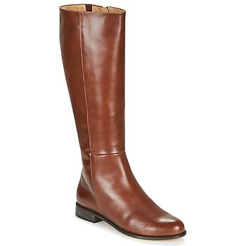 Schoenen Dames Hoge laarzen Fericelli LUCILLA Camel