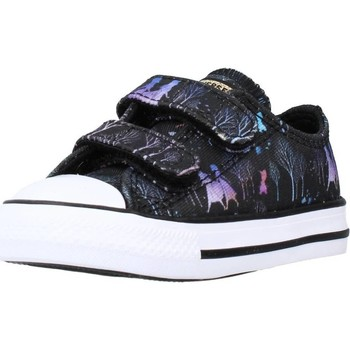 Schoenen Meisjes Lage sneakers Converse CTAS 2V OX Zwart