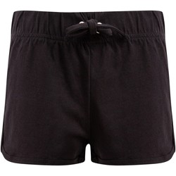 Textiel Kinderen Korte broeken / Bermuda's Skinni Fit SM069 Zwart
