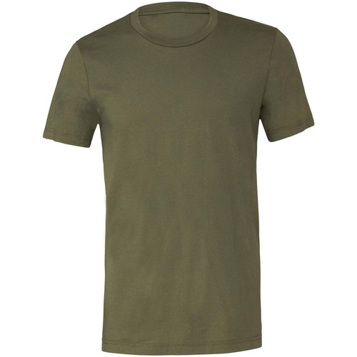 Textiel T-shirts korte mouwen Bella + Canvas CV001 Militair Groen