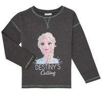 Textiel Meisjes T-shirts met lange mouwen TEAM HEROES FROZEN Grijs