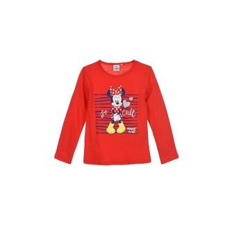 Textiel Meisjes T-shirts met lange mouwen TEAM HEROES MINNIE Rood