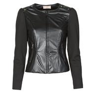 Textiel Dames Jasjes / Blazers Moony Mood NAMOUR Zwart