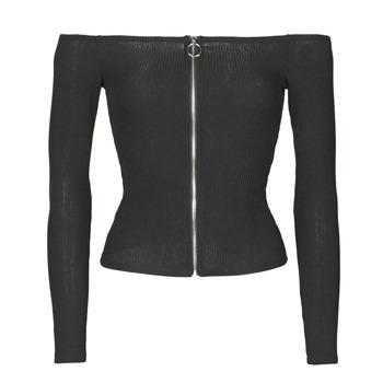 Textiel Dames Tops / Blousjes Moony Mood NOAM Zwart