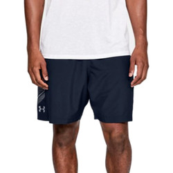 Textiel Heren Korte broeken / Bermuda's Under Armour Woven Graphic Shorts 1309651-409