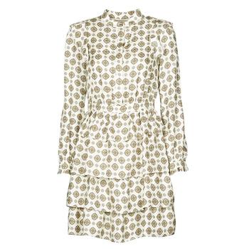 Textiel Dames Korte jurken MICHAEL Michael Kors LUX MEDLN PINDOT DRS Beige