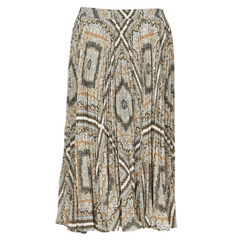 Textiel Dames Rokken MICHAEL Michael Kors MEDALLION PLTED SKIRT Multicolour