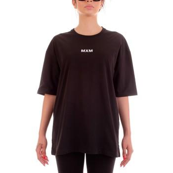 Textiel T-shirts korte mouwen Mxm Fashion 502452 Nero