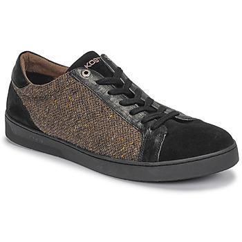 Schoenen Heren Lage sneakers Kost CYCLISTE 55 Zwart / Bruin