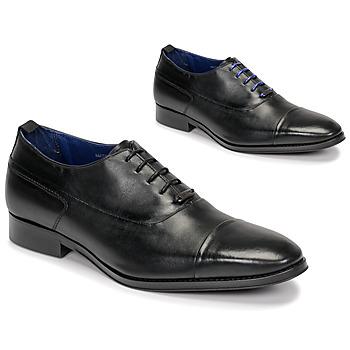 Schoenen Heren Klassiek Azzaro LITCHI Zwart