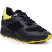 Schoenen Heren Lage sneakers Geox D Shahira A D44N1A-085NY-CF43S navy , yellow
