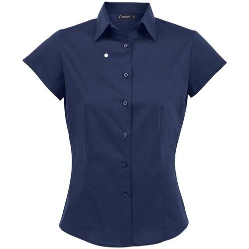 Textiel Dames Overhemden Sols Excess Donkerblauw