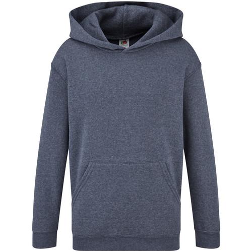 Textiel Kinderen Sweaters / Sweatshirts Fruit Of The Loom 62043 Heather Marine