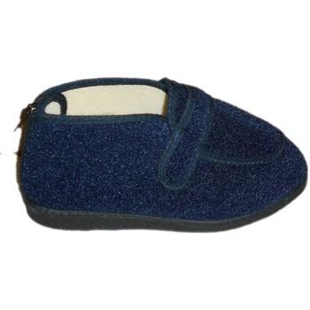 Schoenen Dames Sloffen Davema DAV350bl blu