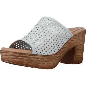Schoenen Dames Leren slippers Cokketta 1212Y Wit