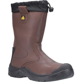 Schoenen Heren veiligheidsschoenen Amblers Safety  Bruin