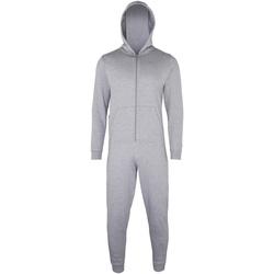Textiel Kinderen Pyjama's / nachthemden Colortone CC01J Heide Grijs