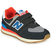 Schoenen Kinderen Lage sneakers New Balance YV574SOV Zwart