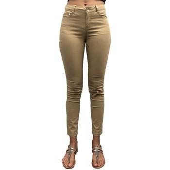 Textiel Dames Chino's LPB Woman Les Petites bombes Pantalon Regular Lina Beige Beige