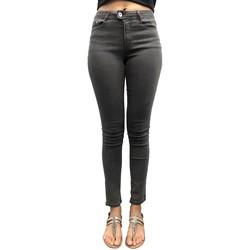 Textiel Dames Skinny jeans LPB Woman Les Petites bombes Pantalon Skinny Ultras Stretch Gris W19V2101 Grijs