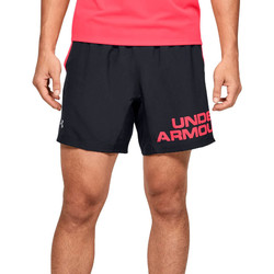 Textiel Heren Korte broeken / Bermuda's Under Armour Speed Stride Graphic 7 Shorts 1350169-001