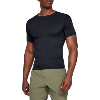 Textiel Heren T-shirts korte mouwen Under Armour HG Tactical Compression Tee 1216007-001