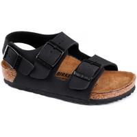 Schoenen Kinderen Sandalen / Open schoenen Birkenstock Milano bf Zwart