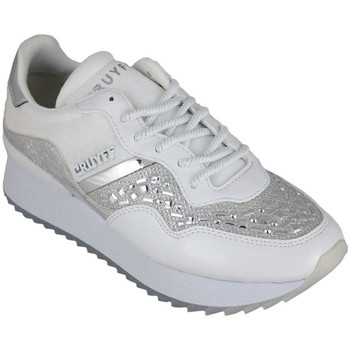 Schoenen Dames Lage sneakers Cruyff wave embelleshed white Wit