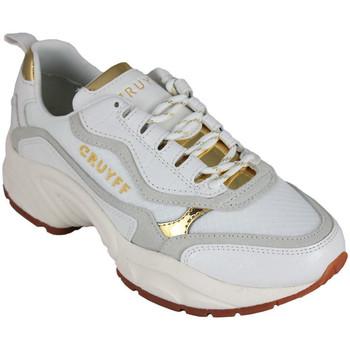 Schoenen Dames Lage sneakers Cruyff ghillie white/gold Wit