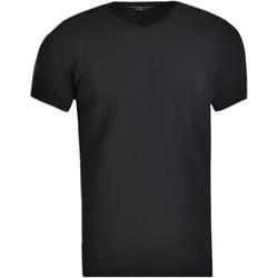 Textiel Heren T-shirts korte mouwen Tommy Hilfiger V-Neck 3 Pack Tee Noir