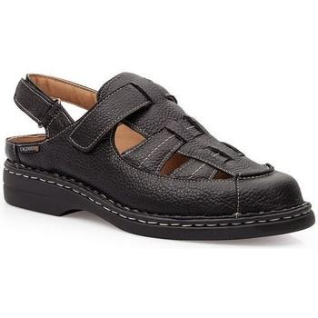 Schoenen Heren Sandalen / Open schoenen Calzamedi KOMODON SANDALEN ZWART