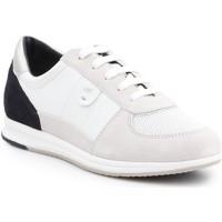 Schoenen Dames Lage sneakers Geox D Avery B D52H5B-05422-C1352 beige, black
