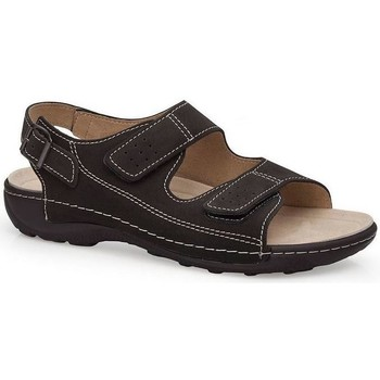 Schoenen Heren Sandalen / Open schoenen Calzamedi BECHAMP SANDALEN ZWART