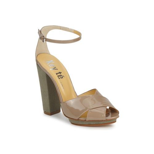 Schoenen Dames Sandalen / Open schoenen Keyté KRISTAL-26722-TAUPE-FLY-3 Taupe