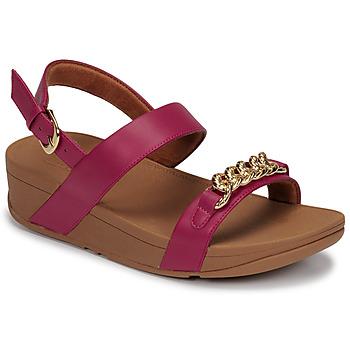 Schoenen Dames Sandalen / Open schoenen FitFlop LOTTIE CHAIN BACK-STRAP SANDALS Fushia