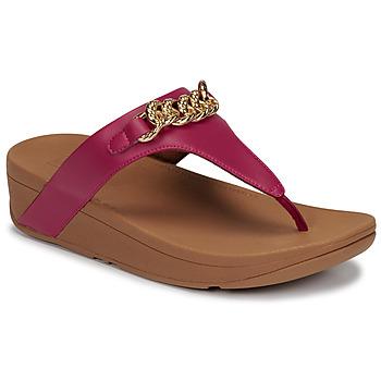Schoenen Dames Sandalen / Open schoenen FitFlop LOTTIE CHAIN TOE-THONGS Fushia