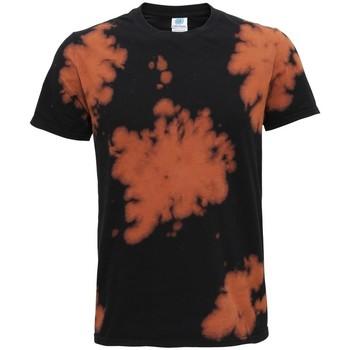 Textiel T-shirts korte mouwen Colortone TD09M Zwart