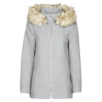 Textiel Dames Mantel jassen Vero Moda VMCOLLARYORK Grijs