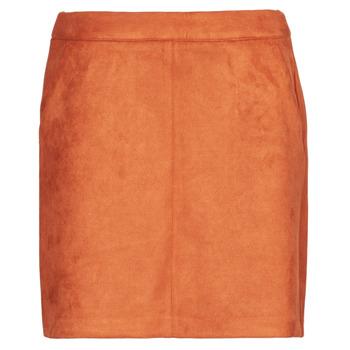 Textiel Dames Rokken Vero Moda VMDONNADINA Oranje