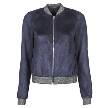 Textiel Dames Leren jas / kunstleren jas Vero Moda VMSUMMERELISA Marine