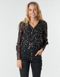 Textiel Dames Tops / Blousjes Vero Moda VMFEANA Zwart